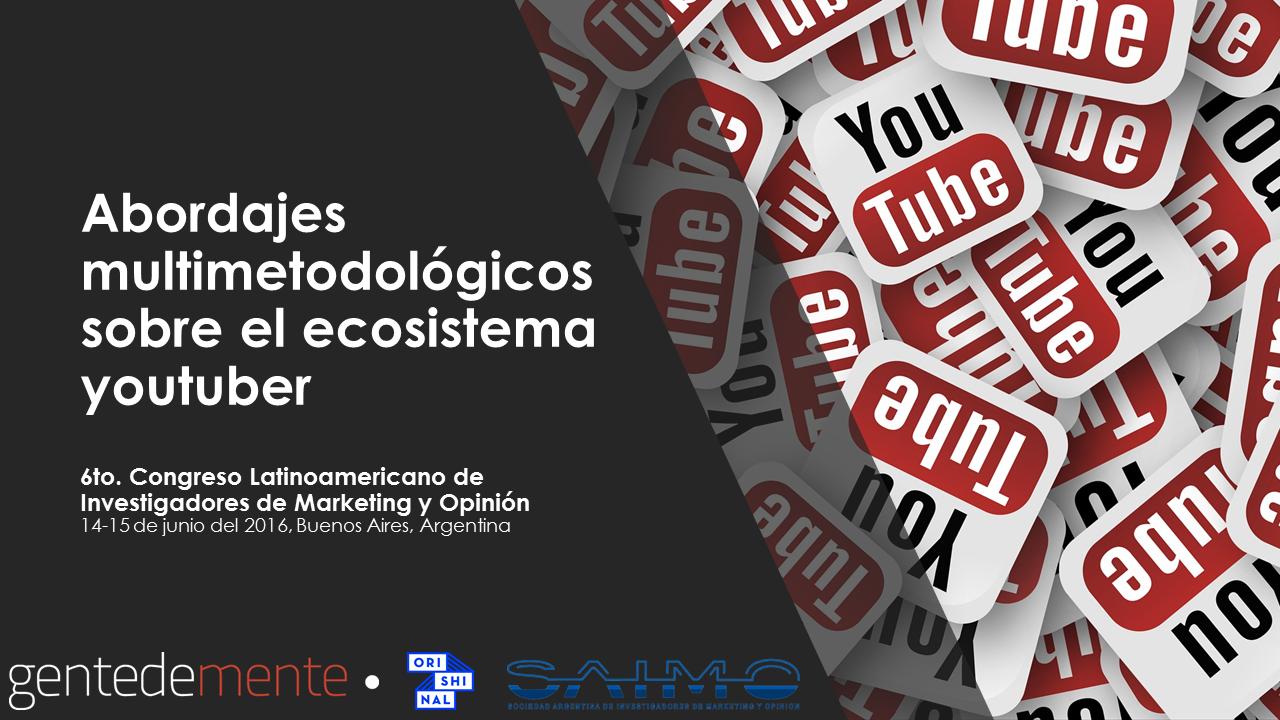 Explorando el ecosistema youtuber – paper premiado por SAIMO